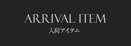 Arrival item 入荷アイテム